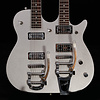 Gretsch G5265 Electromatic Jet Double Neck Silver Sprkl CYG19041787 13lbs 12.2oz USED