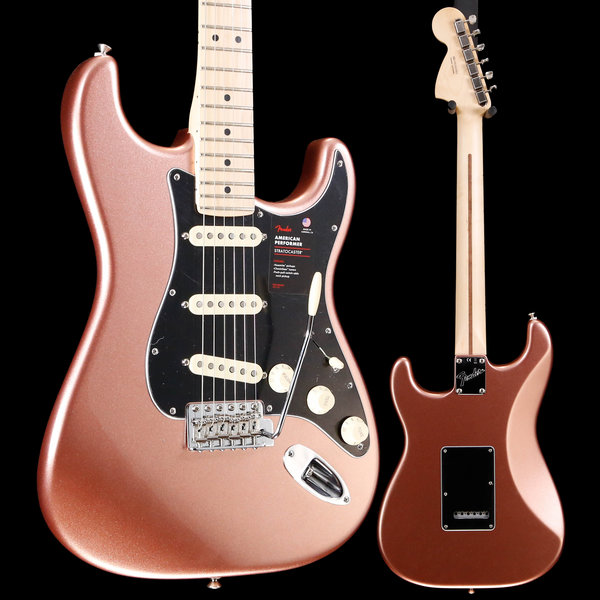Fender Fender American Performer Stratocaster, Maple Fb, Penny US19010623 8lbs 15.7oz