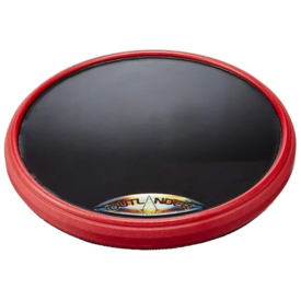 Offworld Percussion Offworld Percussion Outlander 11.5'' Large Practice Pad w/ Darkmatter Tp Red Rim