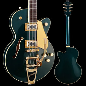 Gretsch Guitars Gretsch G5655TG Electromatic Center Block Jr. Single Cut, Laurel FB, Cadillac Green S/N CYGC19040309 7lbs 5.3oz