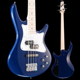 "Ibanez Ibanez SRMD200SBM SR Mezzo 4str Electric Bass, 32"" M Scale, Sapphire Metallic S/N 190406748 7lbs 6oz"