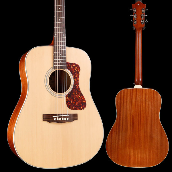 Guild Guild Westerly Collection D-240E Natural w/ Deluxe Bag