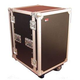 Gator Gator G-TOUR 14U CAST 14U, Standard Audio Road Rack Case w/ Casters