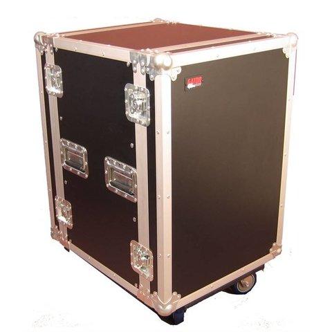 Gator G-TOUR 14U CAST 14U, Standard Audio Road Rack Case w/ Casters