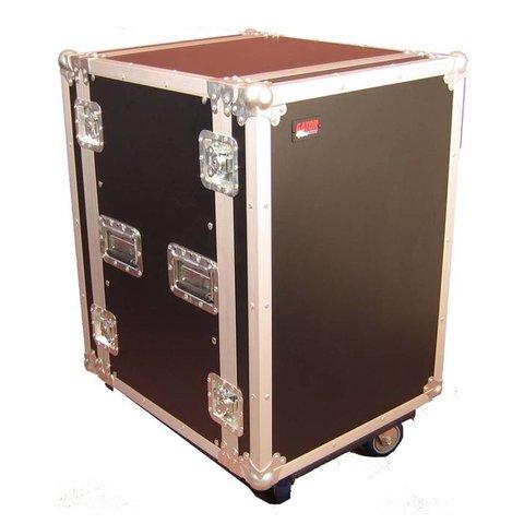 Gator G-TOUR 16U CAST 16U, Standard Audio Road Rack Case w/ Casters