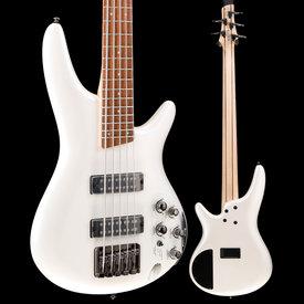Ibanez Ibanez SR305EPW SR Soundgear 5-String Electric Bass Guitar Pearl White S/N 190214271, 9lbs 9.9oz