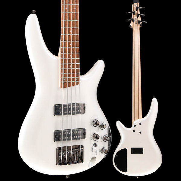 Ibanez Ibanez SR305EPW SR Soundgear 5-String Electric Bass Guitar Pearl White S/N 190214271, 9lbs 9.9oz