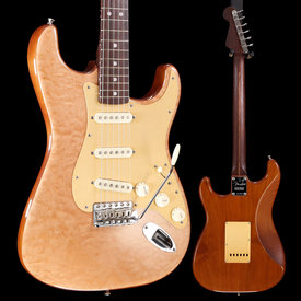 Fender Rarities Quilt Maple Top Stratocaster, Rosewood Neck, Natural S/N LEO7569, 8lbs 7.4oz