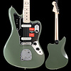 American Pro Jaguar, Maple Fingerboard, Antique Olive S/N US19022569 8lbs 7oz