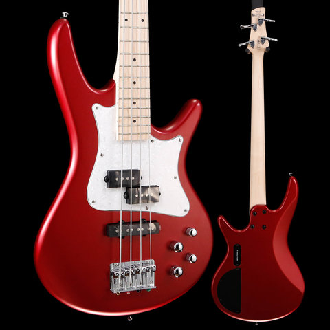 "Ibanez SRMD200CAM SR Mezzo 4str Electric Bass - 32"" medium Scale - Candy Apple Matte S/N I190402011 7lbs 14.9oz"