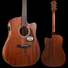 Ibanez AW54CEOPN Artwood Acoustic Electric Guitar Open Pore Mahogany S/N 190513312 4lbs 5.8oz