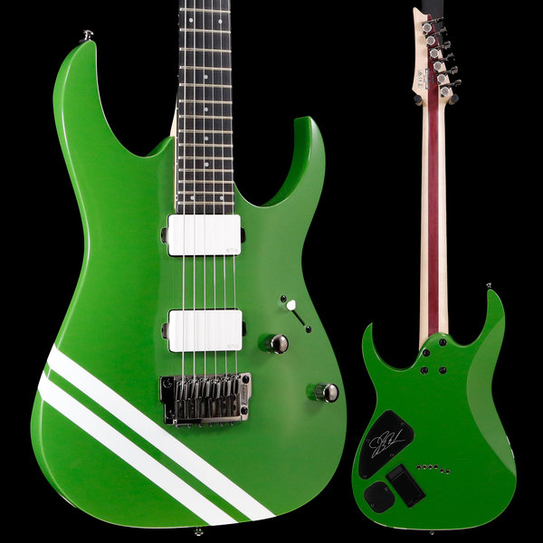 Ibanez Ibanez JBBM20GR JB Brubaker Signature 6str Electric Guitar - Green S/N 180901566 6lbs 11.6oz
