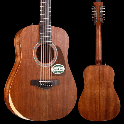 Ibanez AW5412JROPN Artwood Series - Open Pore Natural WITH BAG! S/N 190308362 4lbs 7.8oz