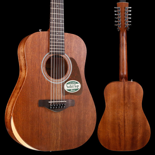 Ibanez Ibanez AW5412JROPN Artwood Series - Open Pore Natural WITH BAG! S/N 190308362 4lbs 7.8oz