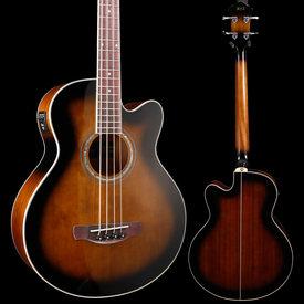 Ibanez Ibanez AEB10EDVS AE Acoustic Electric Bass Dark Violin Sunburst S/N 190308772 5lbs 8.6oz