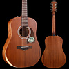 Ibanez AW Artwood 6Str Acoustic Guitar w/Padded Gigbag - Open Pore Natural S/N 180303005 3lbs 3.8oz