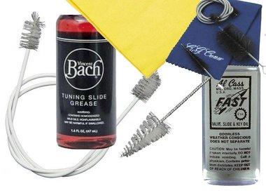 Brass Instrument Maintenance & Cleaning Supplies