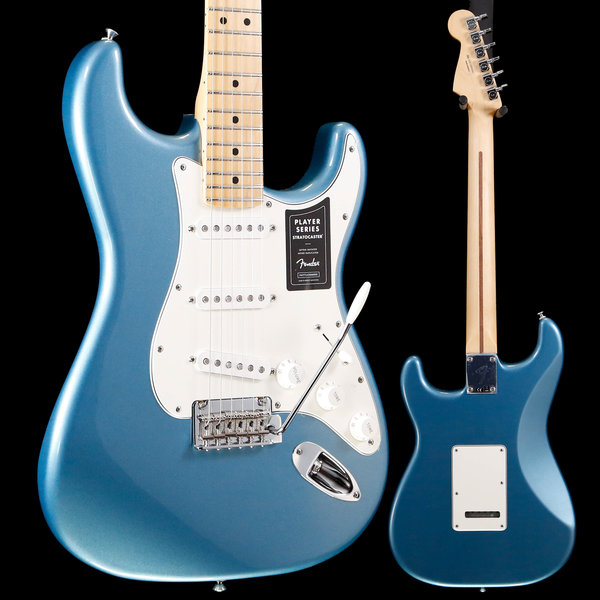 Fender Player Stratocaster Maple Fingerboard Tidepool S/N MX19094082 7lbs 15.4oz
