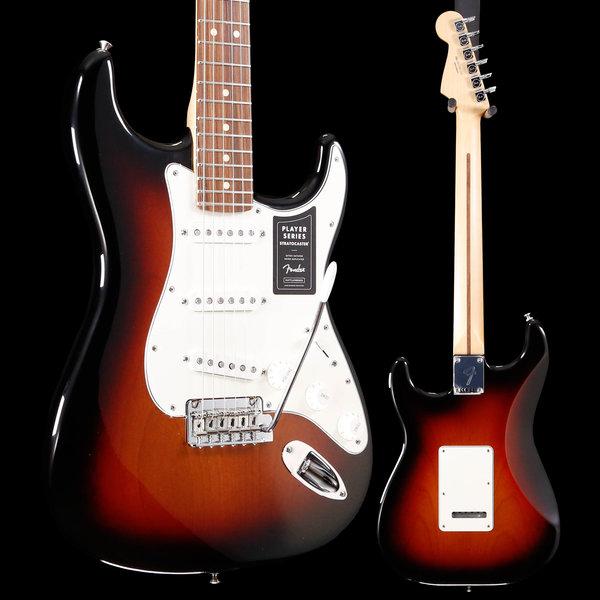 Fender Fender Player Stratocaster, Pau Ferro Fingerboard, 3-Color Sunburst S/N MX19061442 8lbs 2.8oz