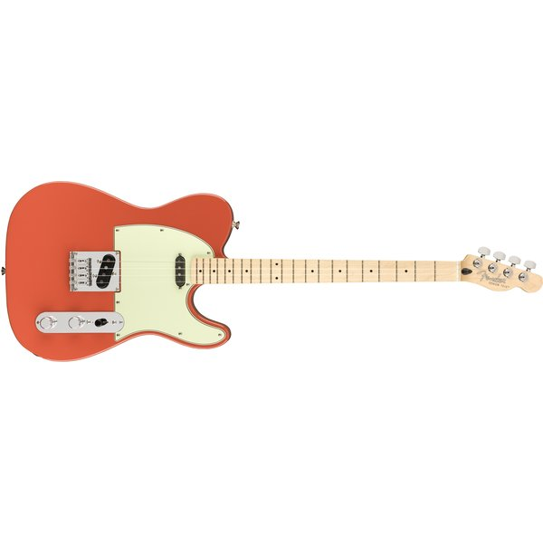 Fender Fender Tenor Tele, Maple Fingerboard, Fiesta Red