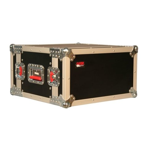 Gator G-TOUR EFX6 6U, Shallow Audio Road Rack Case