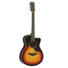Yamaha Yamaha AC3RVSHC Small Body Cutaway A/E Rosewood Vintage Sunburst Guitar w/ Case