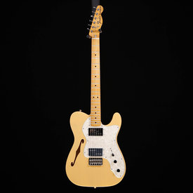 Fender Vintera '70s Telecaster® Thinline, Maple Fingerboard, Vintage Blonde S/N MX19029565 6lbs 1.3oz