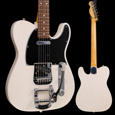 Fender Vintera 60s Telecaster Bigsby, White Blonde MX19094946 8lbs 0.9oz