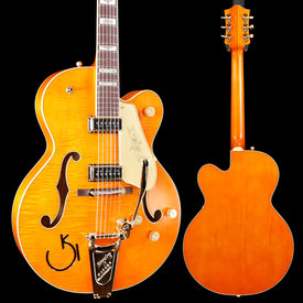 Gretsch Guitars Gretsch G6120T-55 Vintage Select '55 Chet Atkins Hollow Orange Stain Lacquer S/N JT19062229