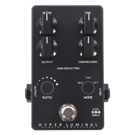 Darkglass Darkglass Ltd Ed Hyper Luminal Hybrid Bass Compressor Pedal - Black Finish