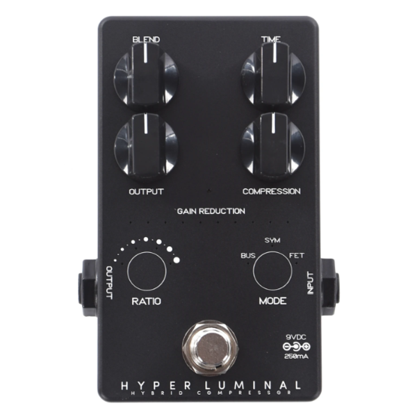Darkglass Darkglass Ltd Ed Hyper Luminal Hybrid Bass Compressor Pedal - Black Finish