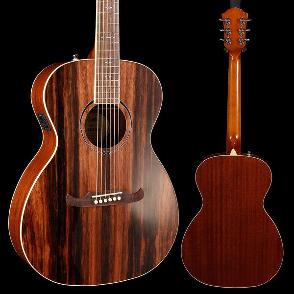 Fender 2019 Limited Edition FA-235E Concert, Striped Ebony Top S/N IWA1922583 4lbs 1oz