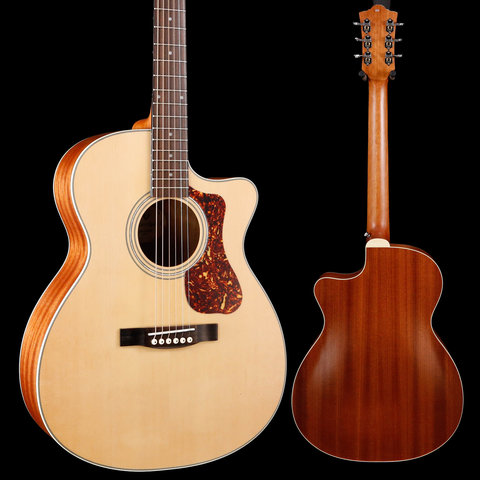 Guild Westerly Collection OM-240CE Natural S/N G21810370 4lbs 0.9oz