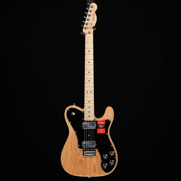 Fender American Pro Telecaster Deluxe Shawbucker, Maple Fingerboard, Natural S/N US19055423 8lbs 1.4oz