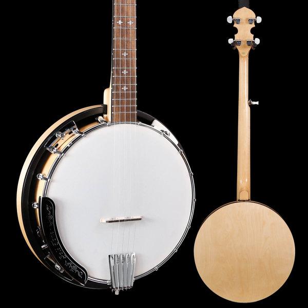 Gold Tone Gold Tone Cripple Creek Resonator Banjo S/N 21908111 6lbs 15.6oz