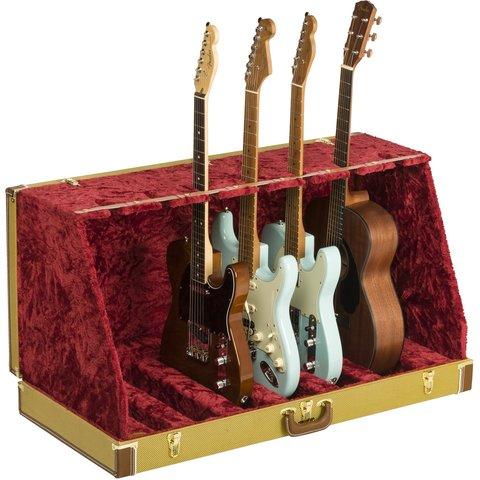 Fender Classic Series Case Stand, 7 Guitars, Tweed