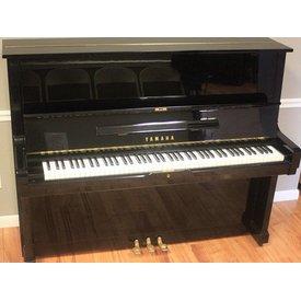 """Yamaha Yamaha U3 52"""" Polished Ebony Studio Upright Piano"""