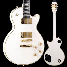 Epiphone Epiphone ENBGBWGH3 Ltd. Ed. Bjorn Gelotte Les Paul Custom White REPAIRED S/N 17031508214 9lbs 2.3oz