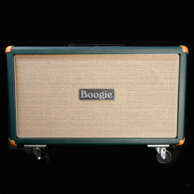 Mesa/Boogie Mesa Boogie 2x12 Recto-Horiz Guitar Cabinet Emerald Bronco w/ Celestion V30 Speakers