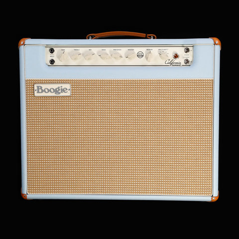 Mesa Boogie California Tweed Configured 1X12 Combo w/ Jensen Blackbird, Baby Blue Bronco