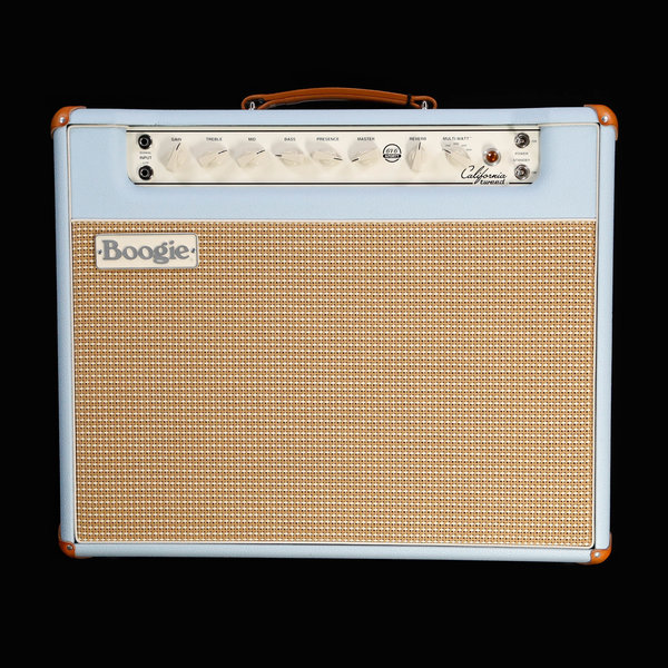 Mesa/Boogie Mesa Boogie California Tweed Configured 1X12 Combo w/ Jensen Blackbird, Baby Blue Bronco