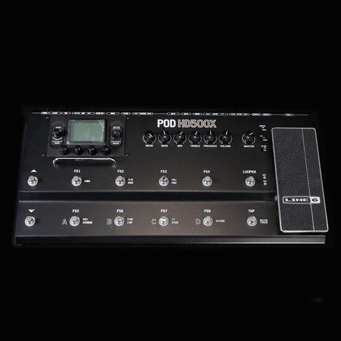 Line 6 Pod HD500X Guitar Multi-Effects Processor w/ Power Adapter