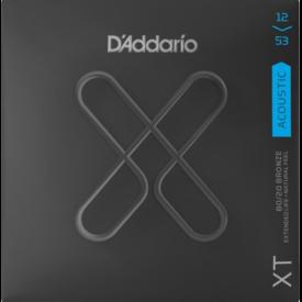 D'Addario Fretted D'Addario XTABR1253, XT Acoustic 80/20 Bronze, Light, 12-53