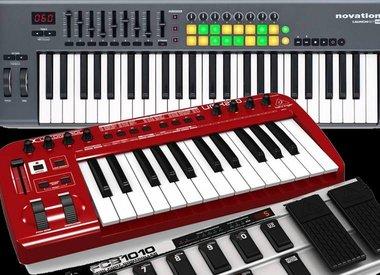 Keyboard Midi Controllers