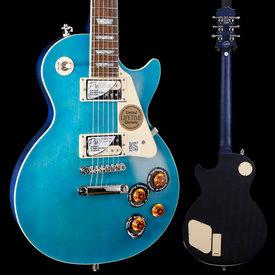 Epiphone Epiphone ENT2OBSNH3 Ltd Ed Les Paul Traditional PRO-II, Ocean Blue, Nickel Hardware S/N 18021505740 8lbs 4.1oz