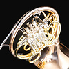 Conn 11DRES Symphony Profess F/Bb Double French Horn, Screw-On Bell, Red Brass