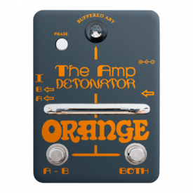 Orange Orange Two-Stroke Boost EQ, active dual-parametric EQ, with +12db of boost