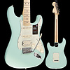 Fender American Performer Strat HSS, Maple Fingerboard, Satin Surf Green S/N US19080277 7lbs 10.1oz