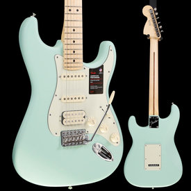 Fender Fender American Performer Strat HSS, Maple Fingerboard, Satin Surf Green S/N US19080277 7lbs 10.1oz
