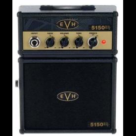 EVH Fender 5150III EL34 Micro Stack, Black and Gold